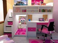 64 Best Beds for kids girls images in 2020 | Kid beds, Girl room, Loft ...