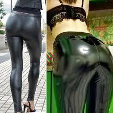 2019 <b>Sexy</b> Women Leather Pants Heart <b>Shaping Hip</b> Push Up ...