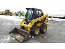 used cat skid steer loaders for north south dakota caterpillar