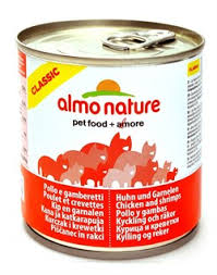 <b>Консервы ALMO NATURE Classic</b> Adult Chicken and Shrimps для ...