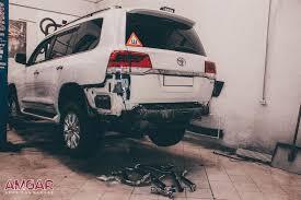 Установка <b>выхлопной системы Double</b> Eight Toyota Land Cruiser ...