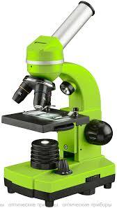 <b>Микроскоп Bresser Junior Biolux</b> SEL 40–1600x, зеленый купить ...