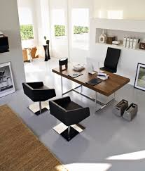 modern home office minimalist home office photo in other brilliant office table top stock photos images