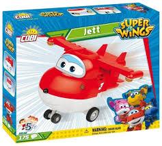 <b>Конструктор Cobi</b> Super Wings 25122 <b>Jett</b> — купить по выгодной ...