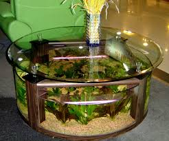 interior fish tank table round fish tanks are the amazing parts of contemporary interior