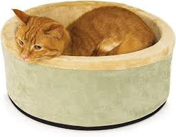 K&H Pet Products Thermo-Kitty Heated Cat Bed ... - Amazon.com
