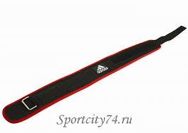 <b>Пояс тяжелоатлетический Adidas Nylon</b> Lumbar Belt купить в ...