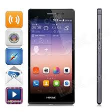 HUAWEI Ascend P7 Android OS 4.4 Quad-core Bar Phone w/ 5.0 ...