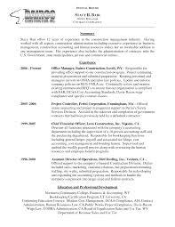 sample resume for office administrator  construction office    sample resume for office administrator  construction office manager resume