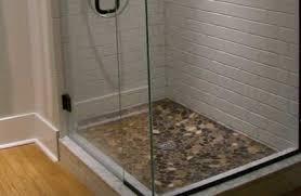 design bathroom shower floor tile ideas home