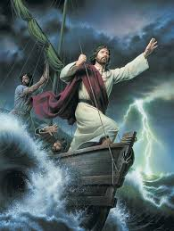 Image result for God walking with us in a storm