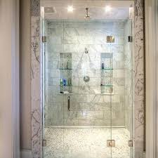 bathroom niches: his and hers shower niches m his and hers shower niches with glass shelves