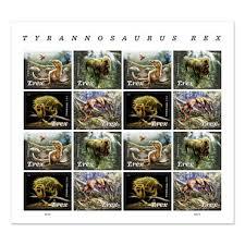 <b>Tyrannosaurus Rex</b> Stamp | USPS.com