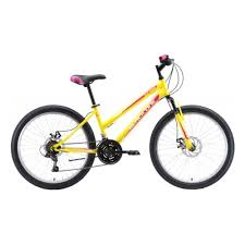 Подростковый <b>велосипед Black One Ice</b> Girl 24 D 2020, желтый ...