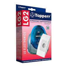 Комплект <b>бумажных</b> мешков для пылесоса <b>Topperr</b> LG 2 в Москве ...