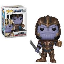 Фигурка Танос Funko POP! Bobble <b>Marvel Avengers Endgame</b> ...