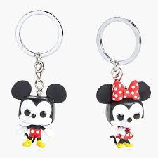 <b>Брелок</b> Funko POP! Keychain: <b>Disney</b>: <b>Mickey</b>: 2PK Mickey & Minnie