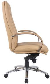 image of leather office chairs brown leather office chair