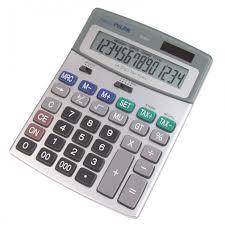 <b>Milan Калькулятор</b> настольный полноразмерный 14 разрядов ...