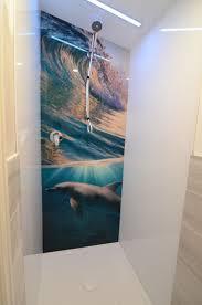 acrylic splashback bathroom picture stunning shower splashbacks in printed acrylic any image graphic or