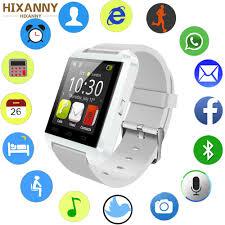 <b>Bluetooth Smart</b> Watch Men Women U8 For IPhone IOS Android ...
