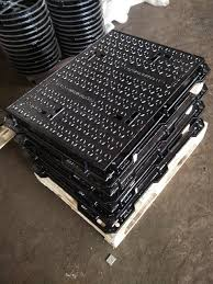 En 124 Standard <b>Rectangle</b> Sewer Ductile Iron Manhole <b>Frame and</b> ...