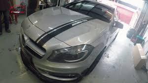Mercedes-Benz <b>W176</b> A250 Fully Converting A45 AMG and <b>Carbon</b> ...