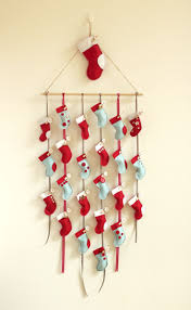 17 best ideas about calendar templates monthly homemade diy advent calendar tutorial has a template for the stockings surprisingly easy to