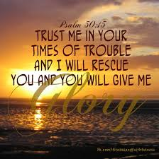 TRUST ME in your times of trouble | Bible Verses 03 | Pinterest ... via Relatably.com