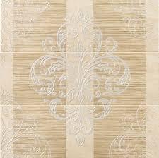 <b>Керамическая плитка ELITE</b> CREAM INS.TRESOR 25x75 декор ...