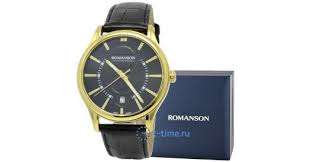 <b>Часы ROMANSON TL 0392 MG</b>(<b>BK</b>) купить в интернет-магазине ...