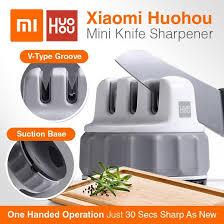 Xiaomi Mijia <b>Huohou Mini Knife</b> Sharpener Pengasah Pisau ...