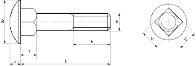 <b>DIN 603 Болт мебельный</b>