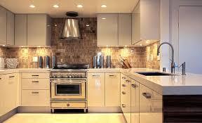 ultra modern glossy kitchen with under cabinets lighting best under cabinet kitchen lighting