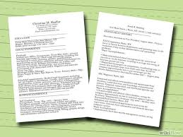 how to make a resume    free sample resumes    wikihowuploaded  year ago