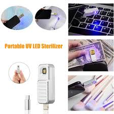 UVC Portable <b>USB LED</b> Sanitizer <b>UV Sterilizer</b> Mini Disinfection ...