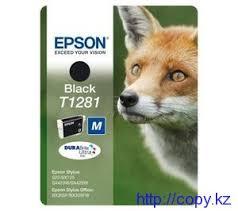 <b>Картридж Epson T1281</b> (<b>C13T12814010</b>/ <b>C13T12814011</b> ...