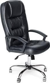 <b>Кресло Tetchair СН9944</b> (<b>Хром</b>, Кож/Зам, Черный) купить в ...