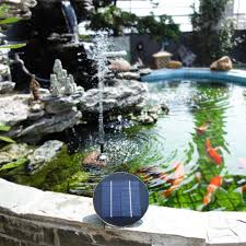 9V <b>1.5W</b>/2W/3W <b>Solar</b> Panel Water Pump <b>Solar Powered</b> Brushless ...