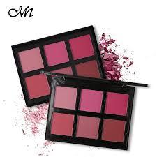 45% OFF <b>Menow Brand</b> Makeup <b>6 Color</b> Blush Palette Face Blusher ...