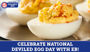 Celebrate National Deviled Egg Day with Eggland