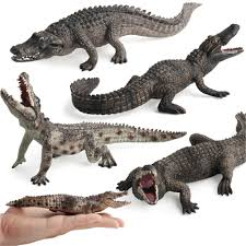 1pcs halloween realistic crocodile simulation wild crocodile model toys for boys variety one piece christmas gifts everyone