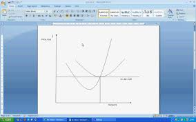 drawing perfect competition diagram in microsoft word   youtubedrawing perfect competition diagram in microsoft word