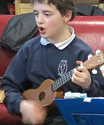 """Head teacher Stephen Glen-Lee explained, """"The ukulele is almost the same cost as a recorder but has a faster success ... - ukulele"""