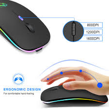 China <b>Wireless Mouse Bluetooth RGB</b> Rechargeable Mouse ...