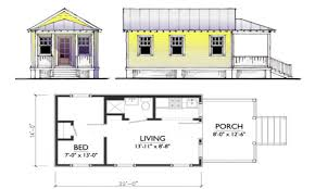Small Tiny House Plans Small Guest House Floor Plans  small guest