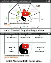 easy video tips on how to apply the feng shui bagua both classical as apply feng shui