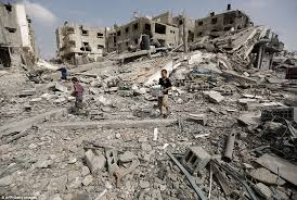 Image result for GAZA destroyed home PHOTO