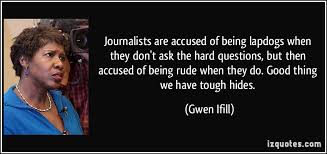 Image result for gwen ifill