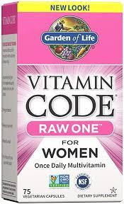 Garden of Life Vitamin Code Raw One for Women ... - Amazon.com